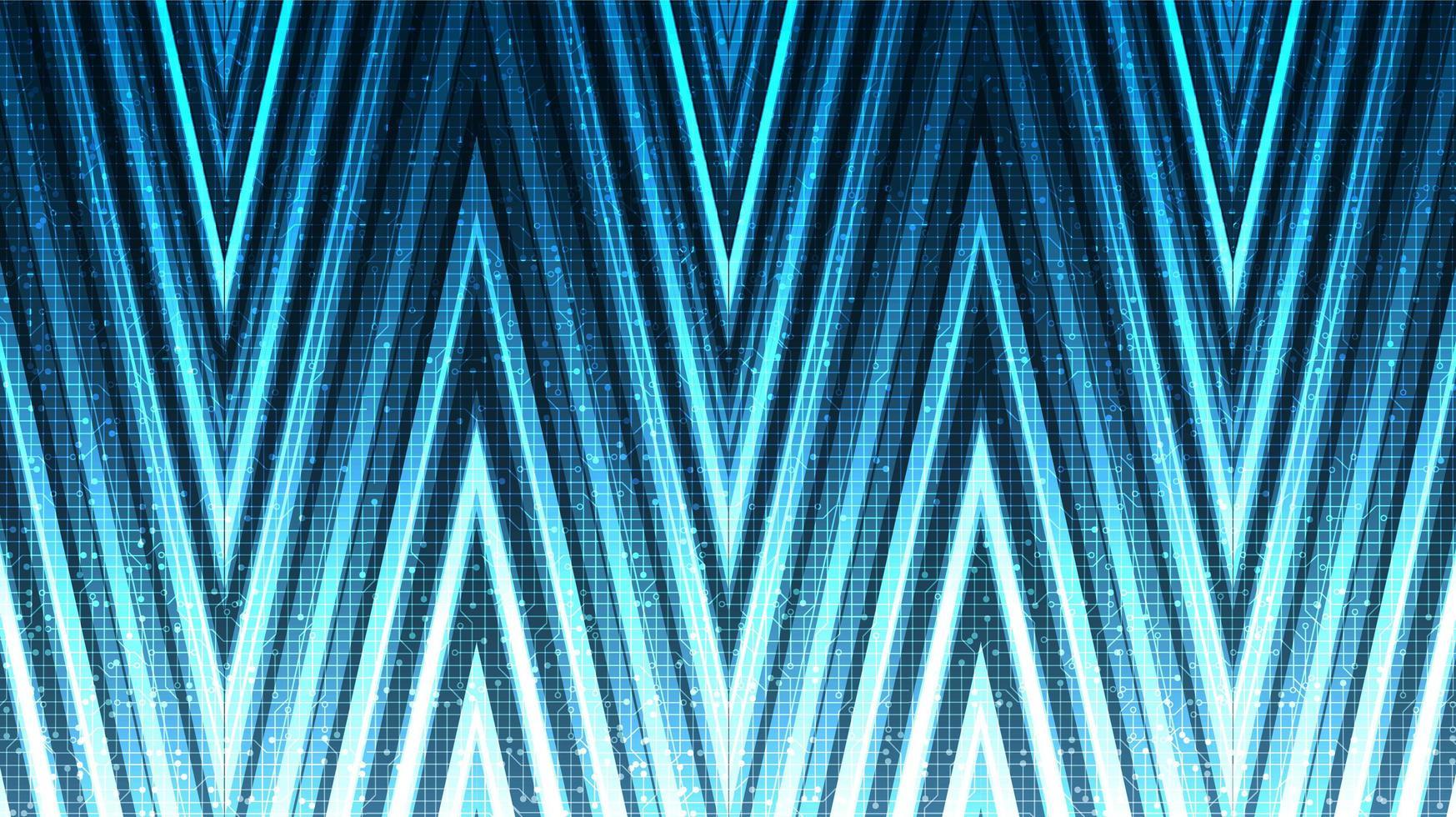 Fondo de tecnología de flecha abstracta, diseño de concepto digital y de conexión, ilustración vectorial. vector