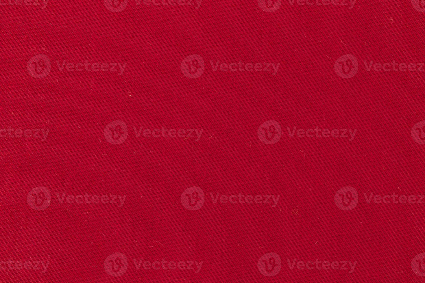 fondo de tela textil roja foto