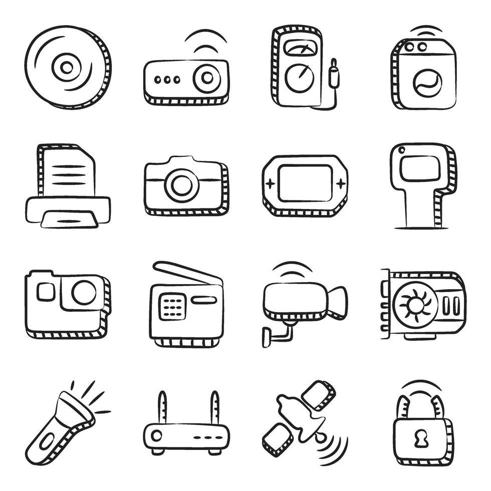 hardware y dispositivos inteligentes vector