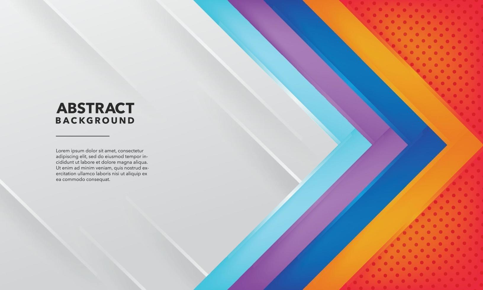 fondo abstracto degradado colorido vector