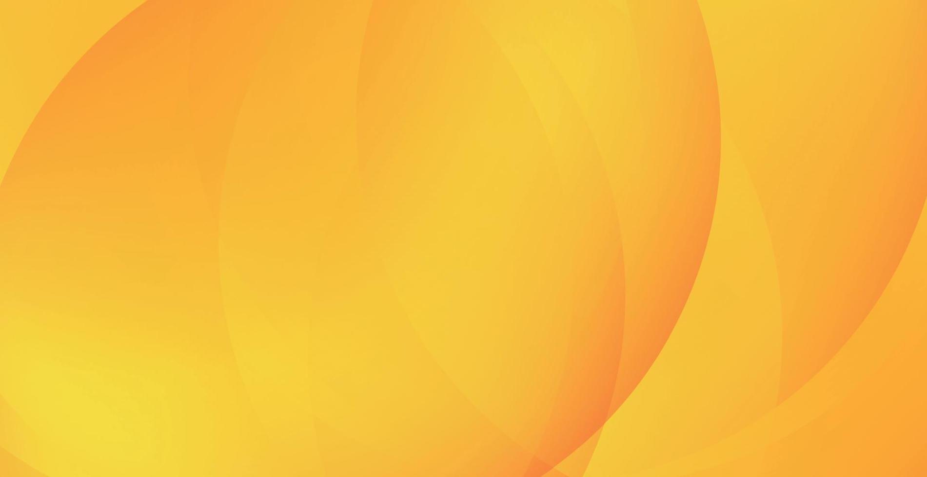 Fondo naranja abstracto con líneas onduladas - vector