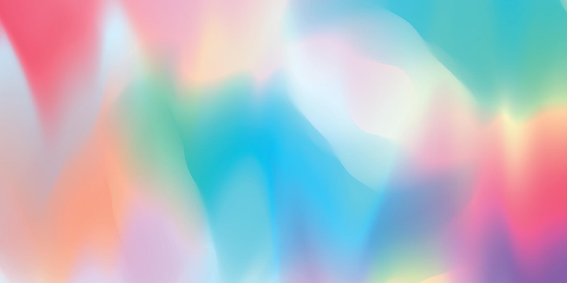 Concepto de fondo degradado colorido pastel abstracto para su diseño gráfico colorido, vector