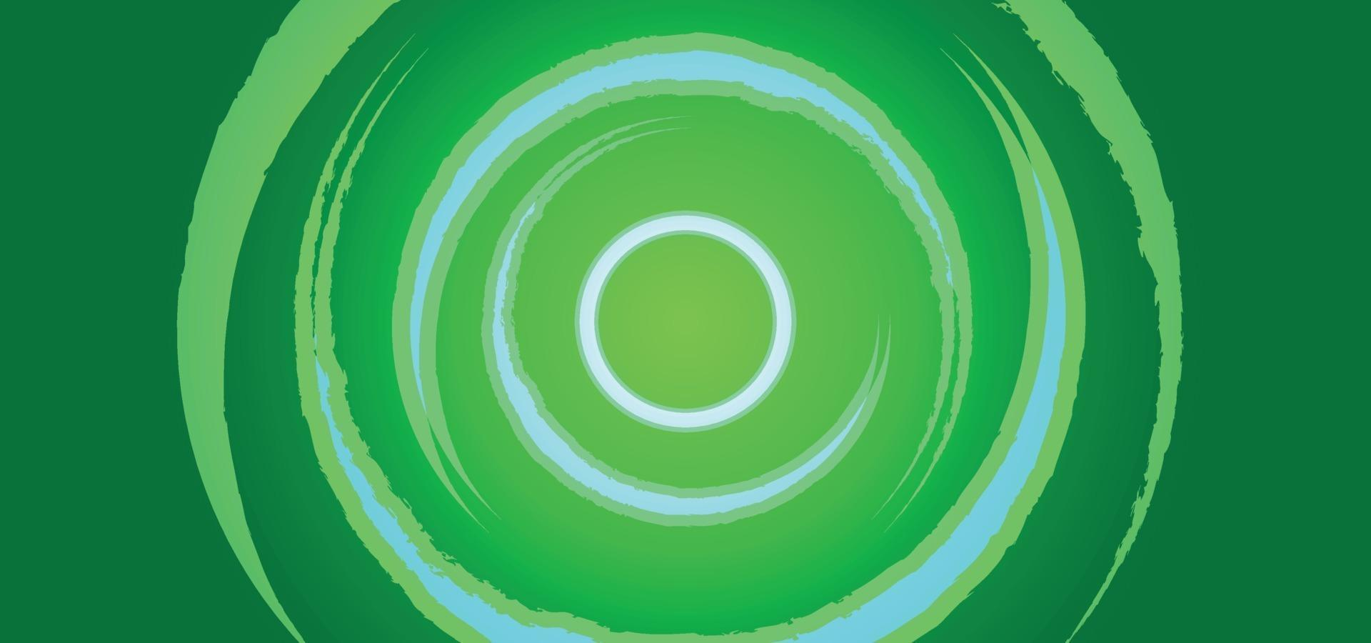 Green  modern abstract background or banner vector