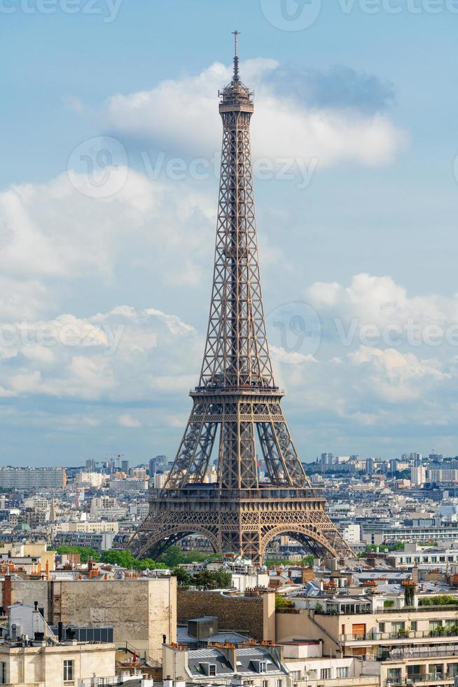 Eiffel tower, famous landmark and travel destination in France, Paris photo