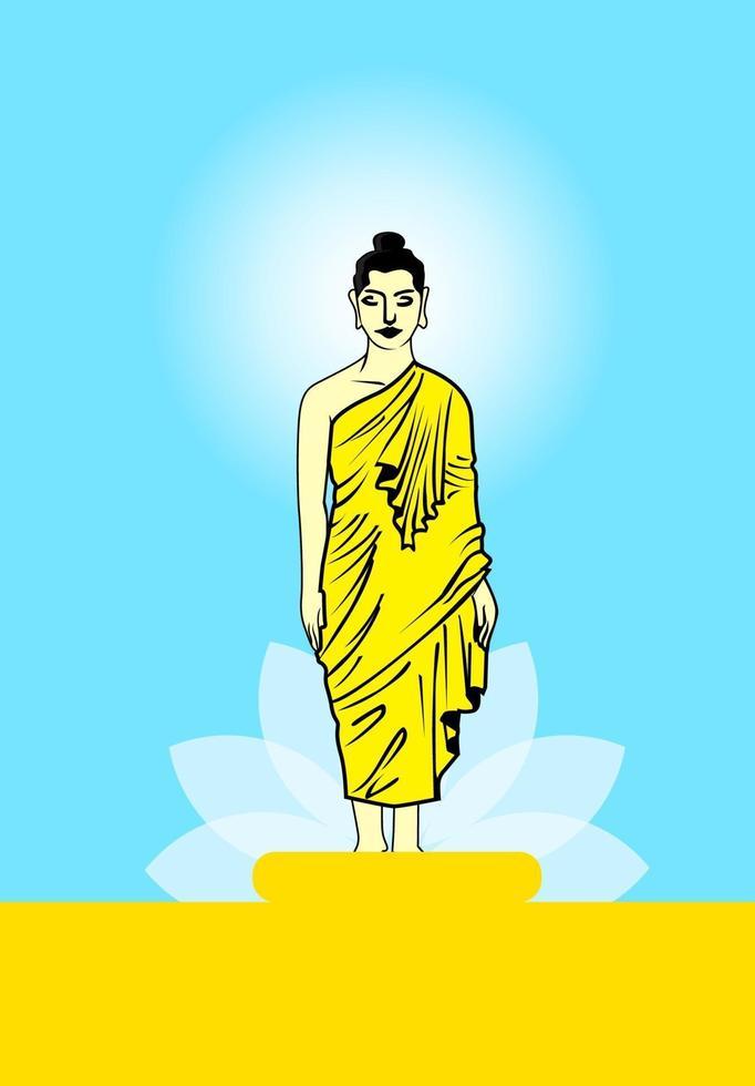 buddha vector design
