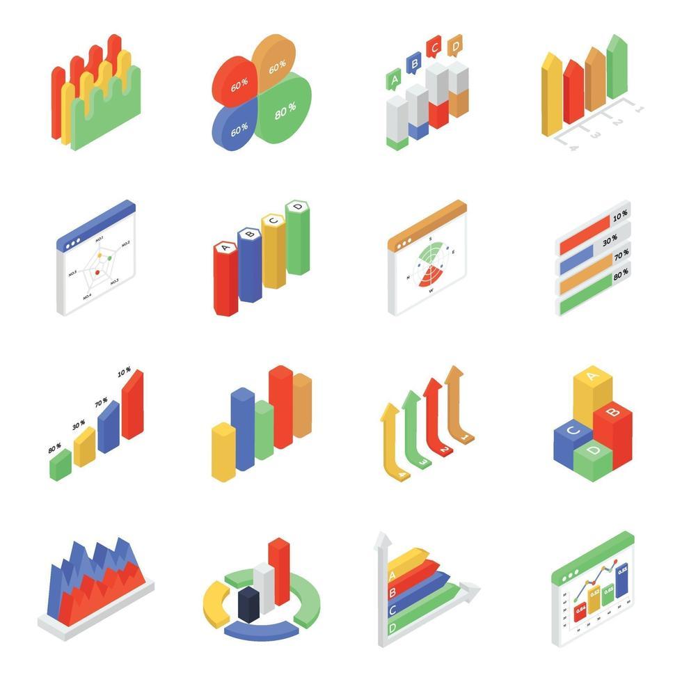 Data Analytics and Infographic vector