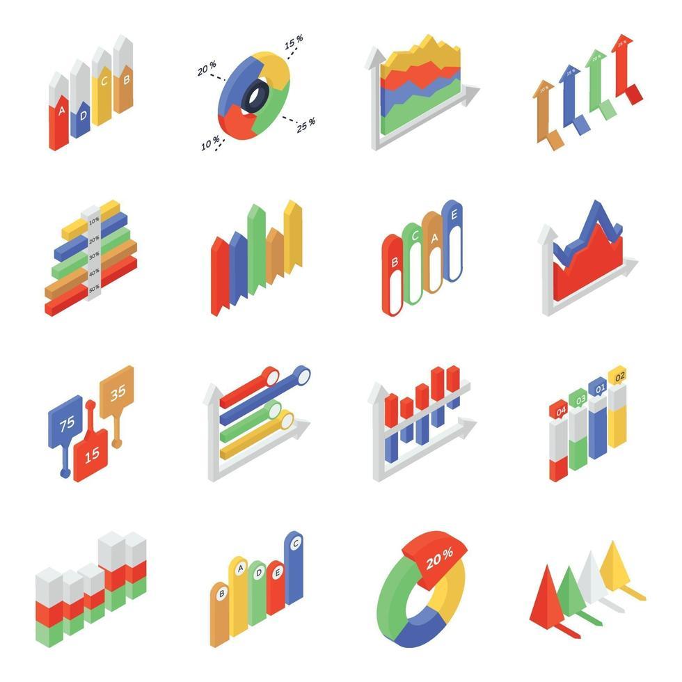 Charts and Diagrams vector