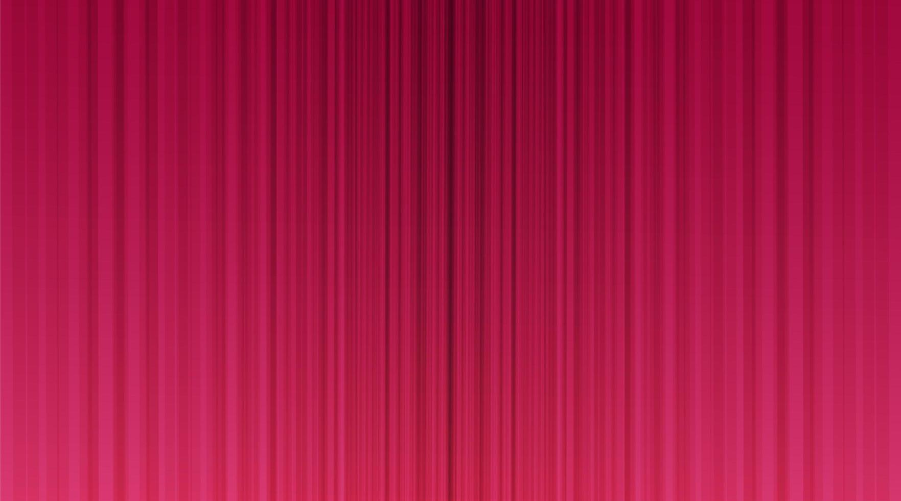 cortina rosa con fondo de escenario vector
