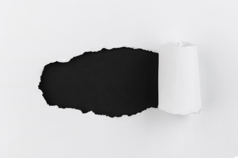 Fondo de pared abstracto papel blanco y negro foto