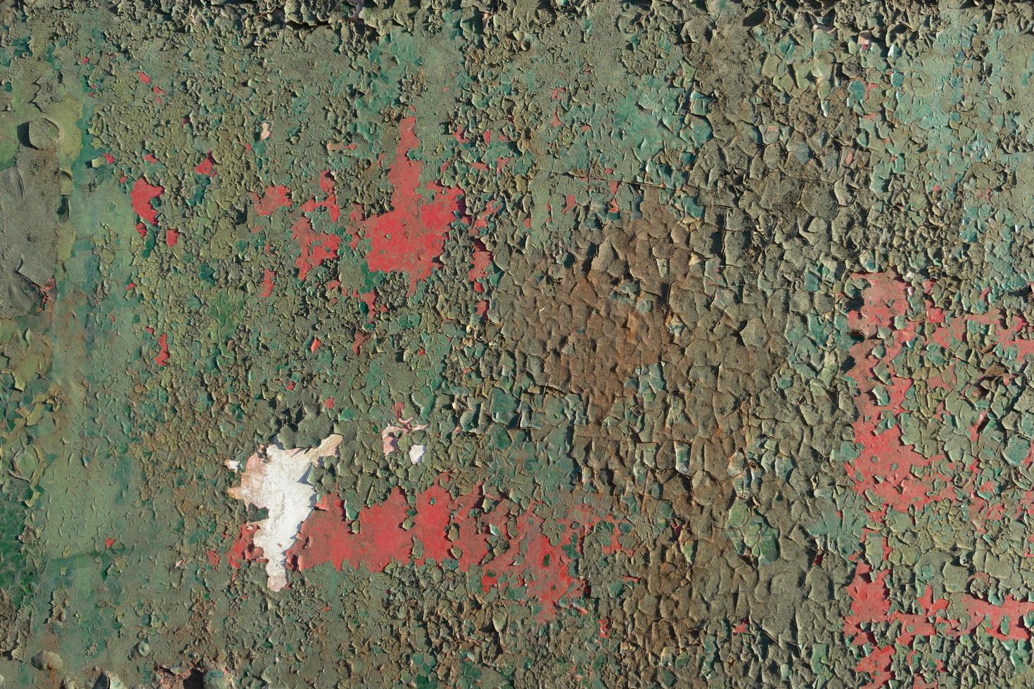 fondo con pintura vieja escamosa. foto