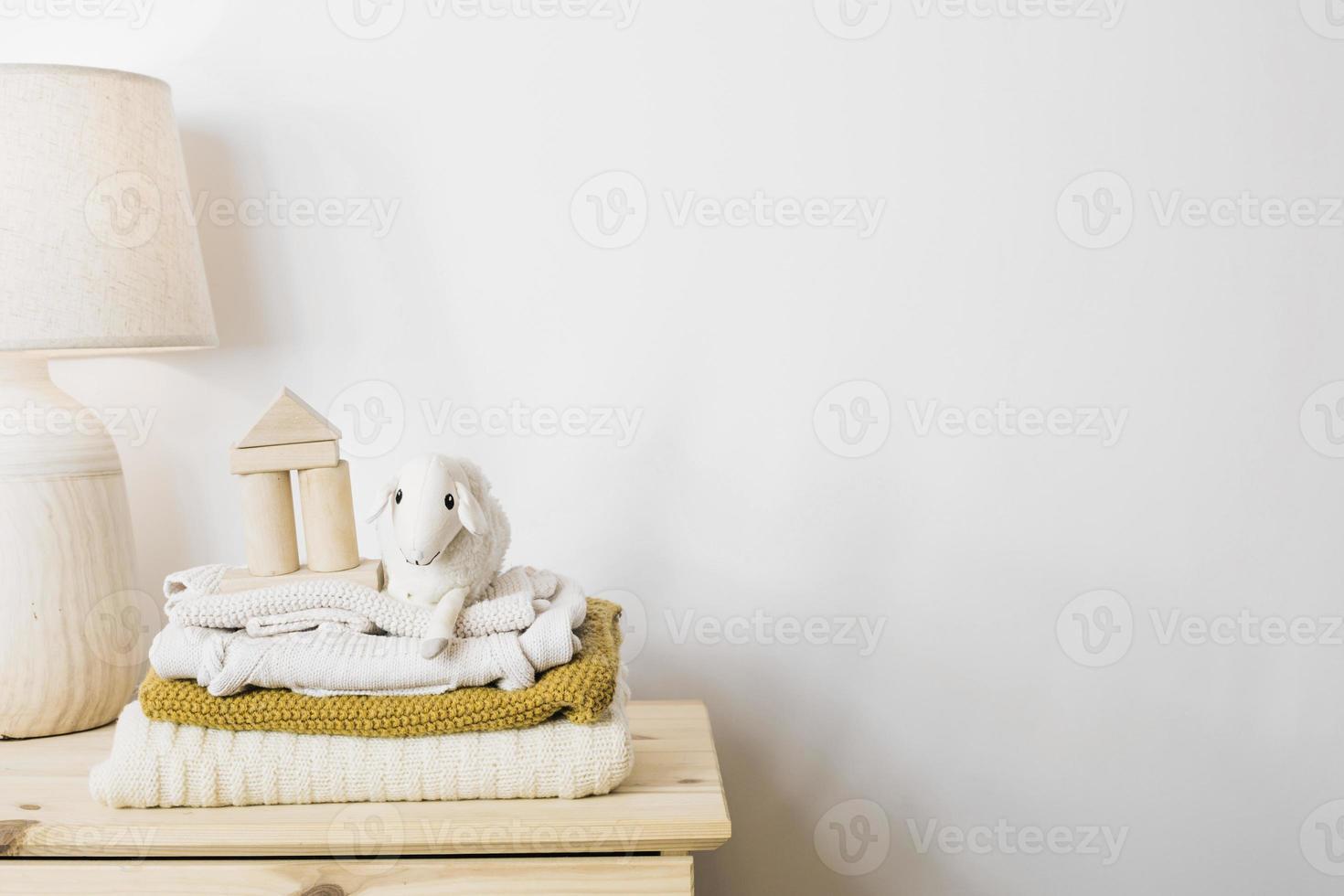 mantas de felpa de pelo de oveja foto