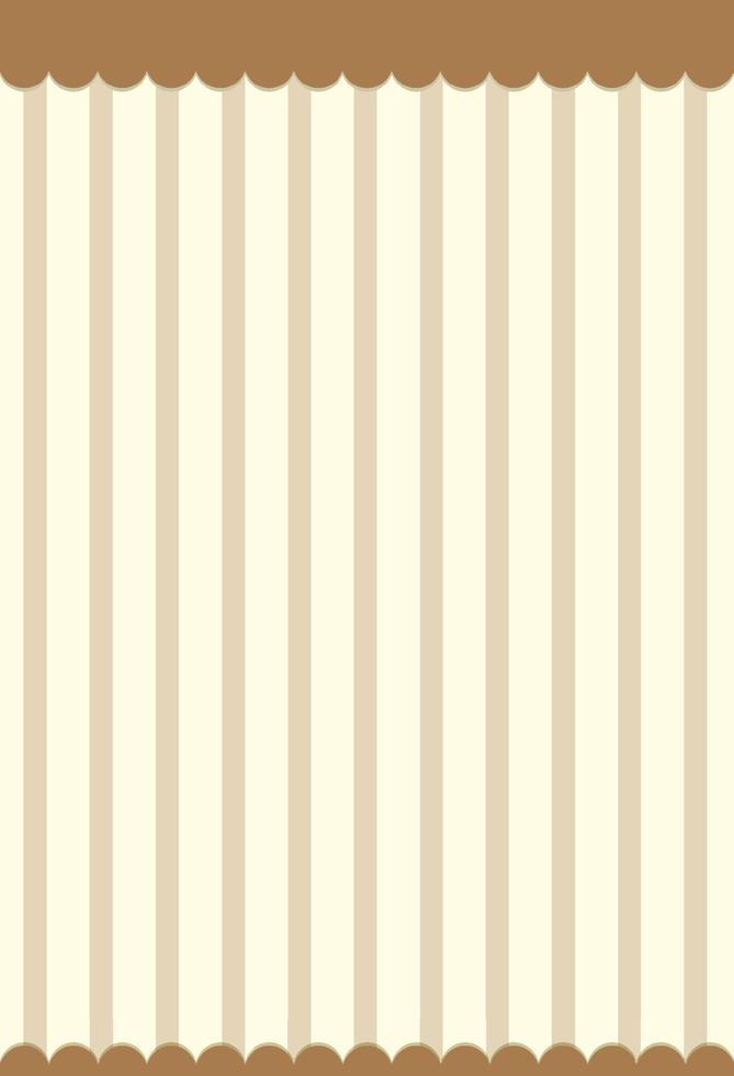 Brown vertical stripes pattern background vector