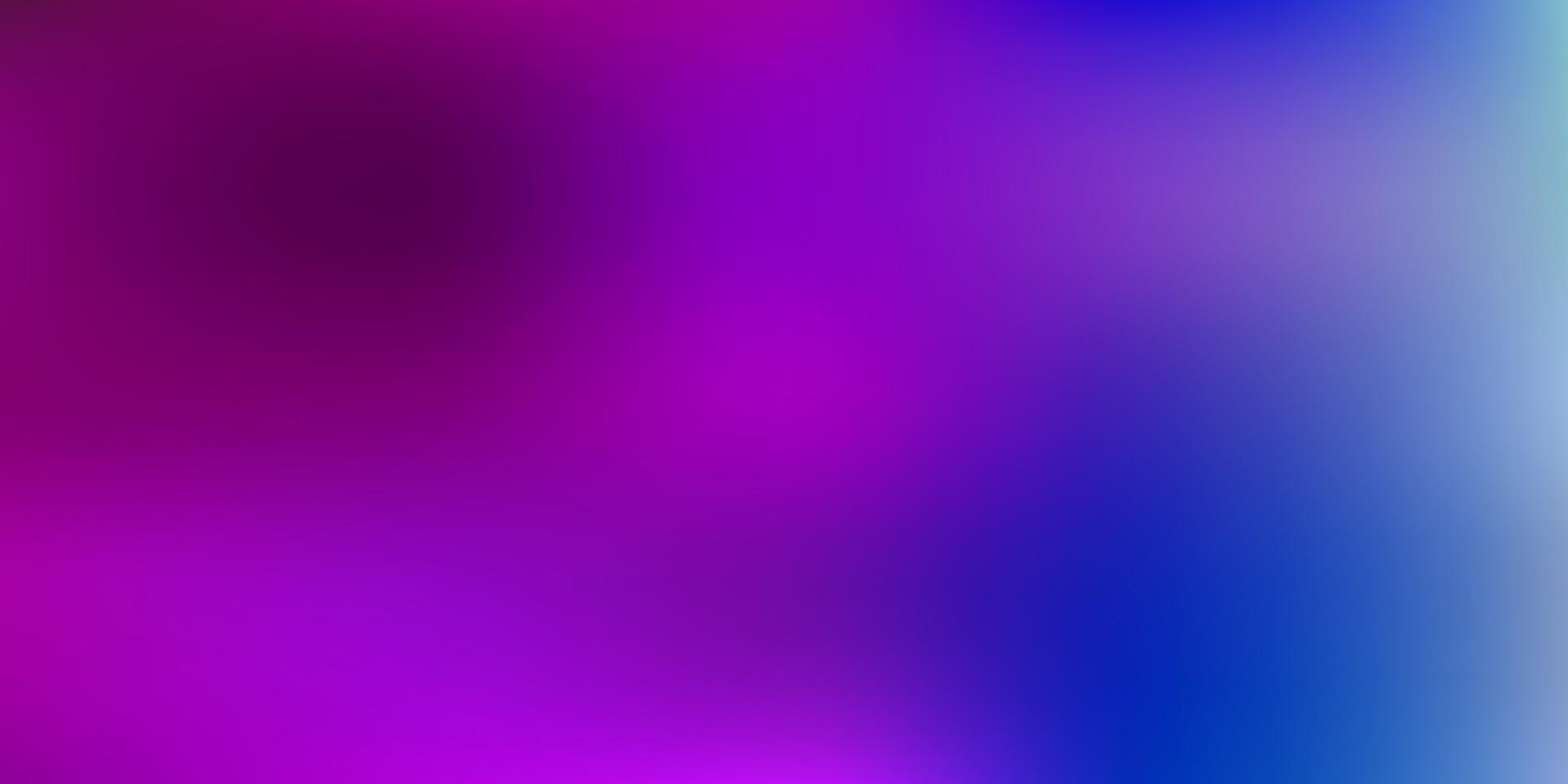Fondo de desenfoque degradado de vector rosa claro, azul.