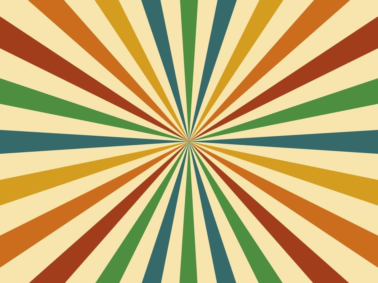 resumen. Fondo vintage geométrico colorido estilo retro de los años 60. vector. ilustración. vector