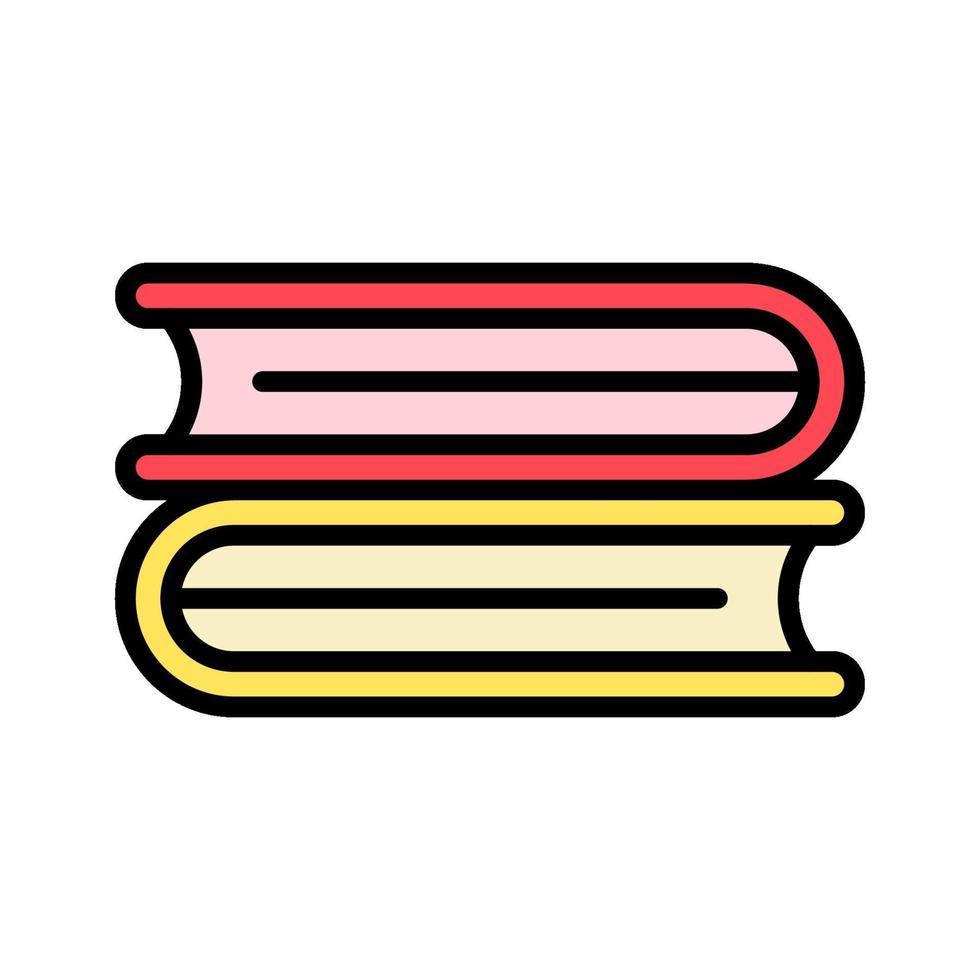 icono de vector de libros