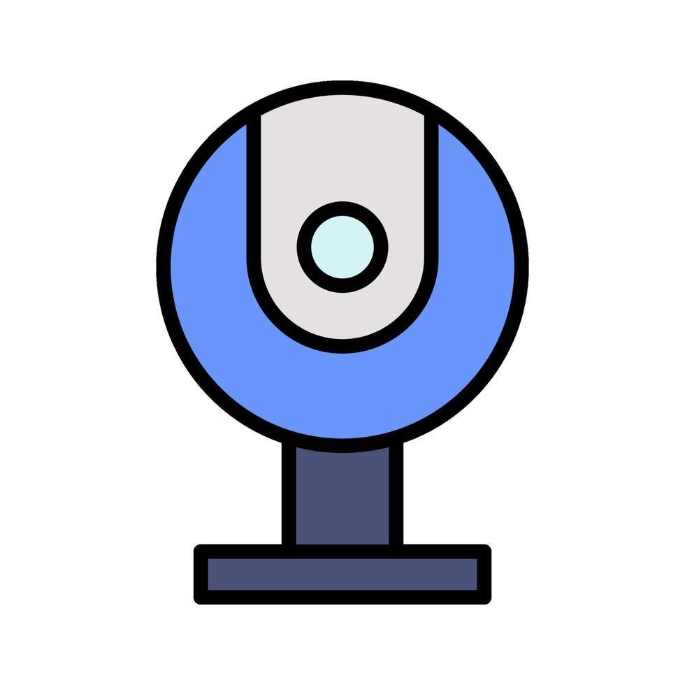 icono de vector de webcam