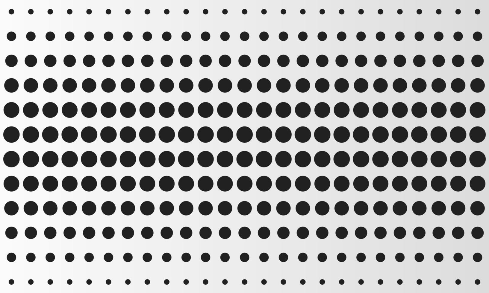 hermoso patrón de círculos geométricos vector