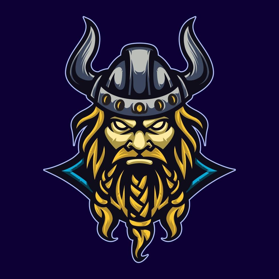 Mascot Viking for Sport vector