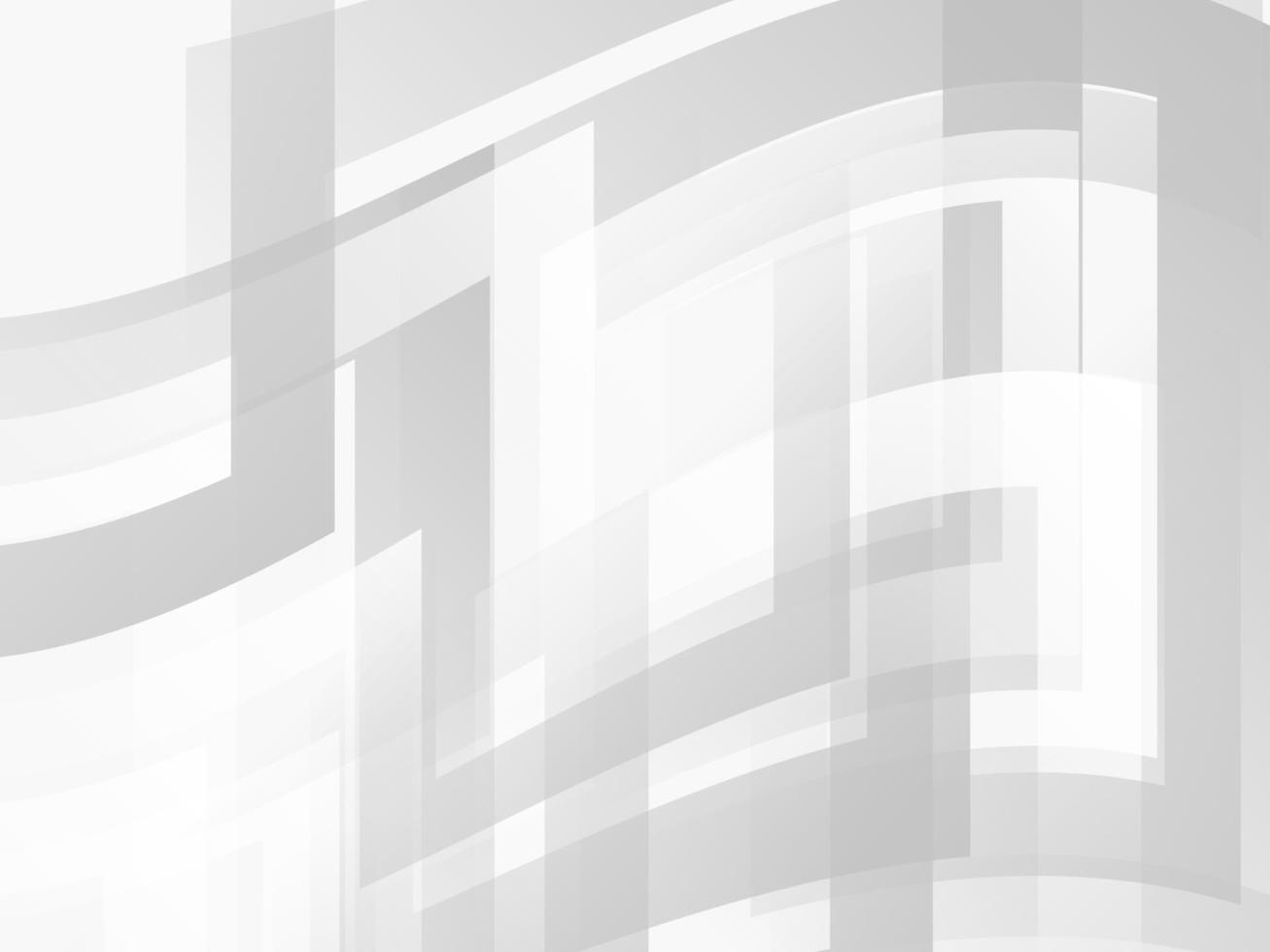 Diseño de fondo moderno con estilo geométrico gris y blanco abstracto vector