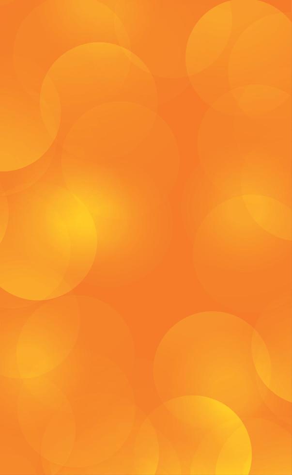 Fondo borroso abstracto amarillo con efecto bokeh vector