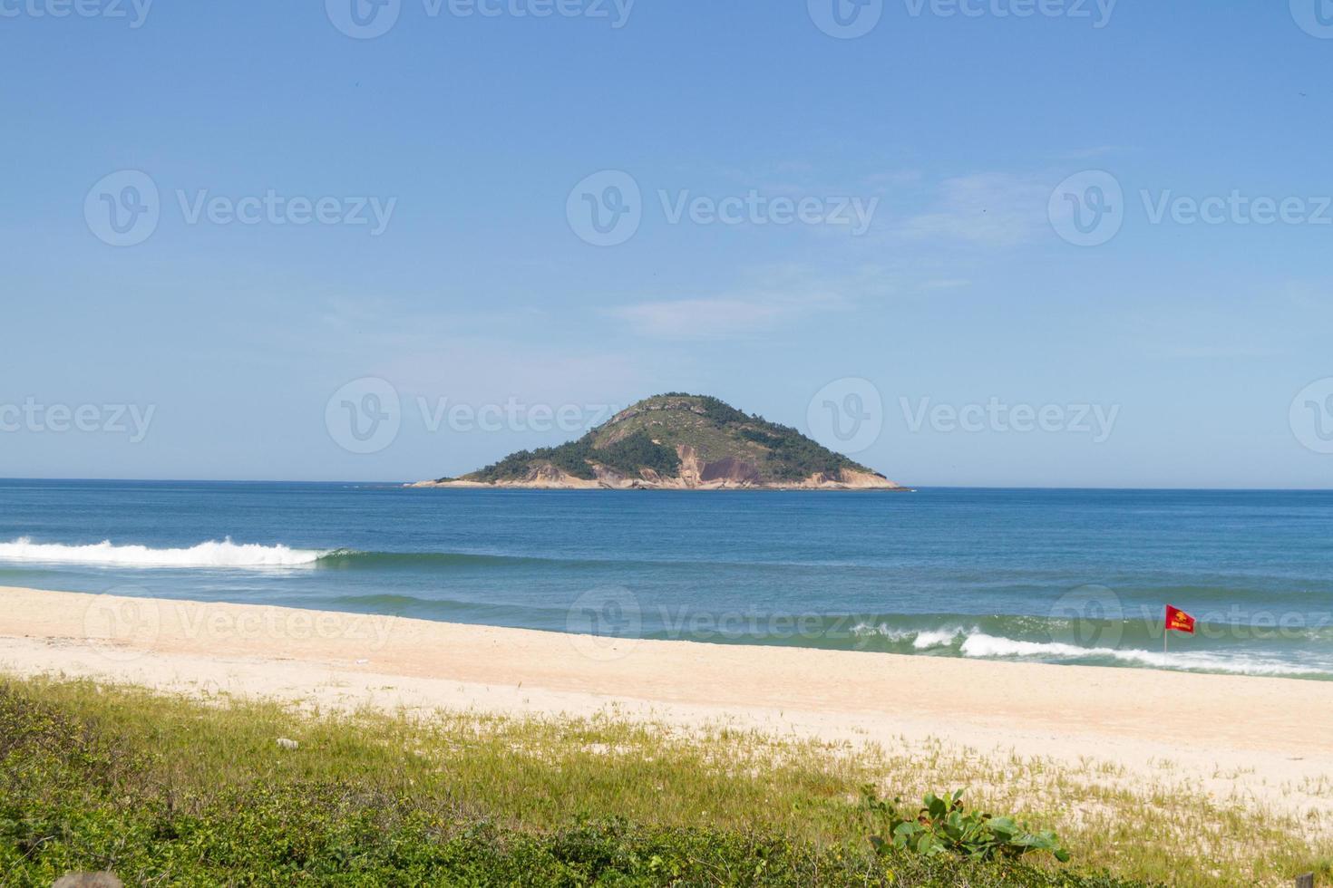 Grumari beach on the west side of Rio de Janeiro photo