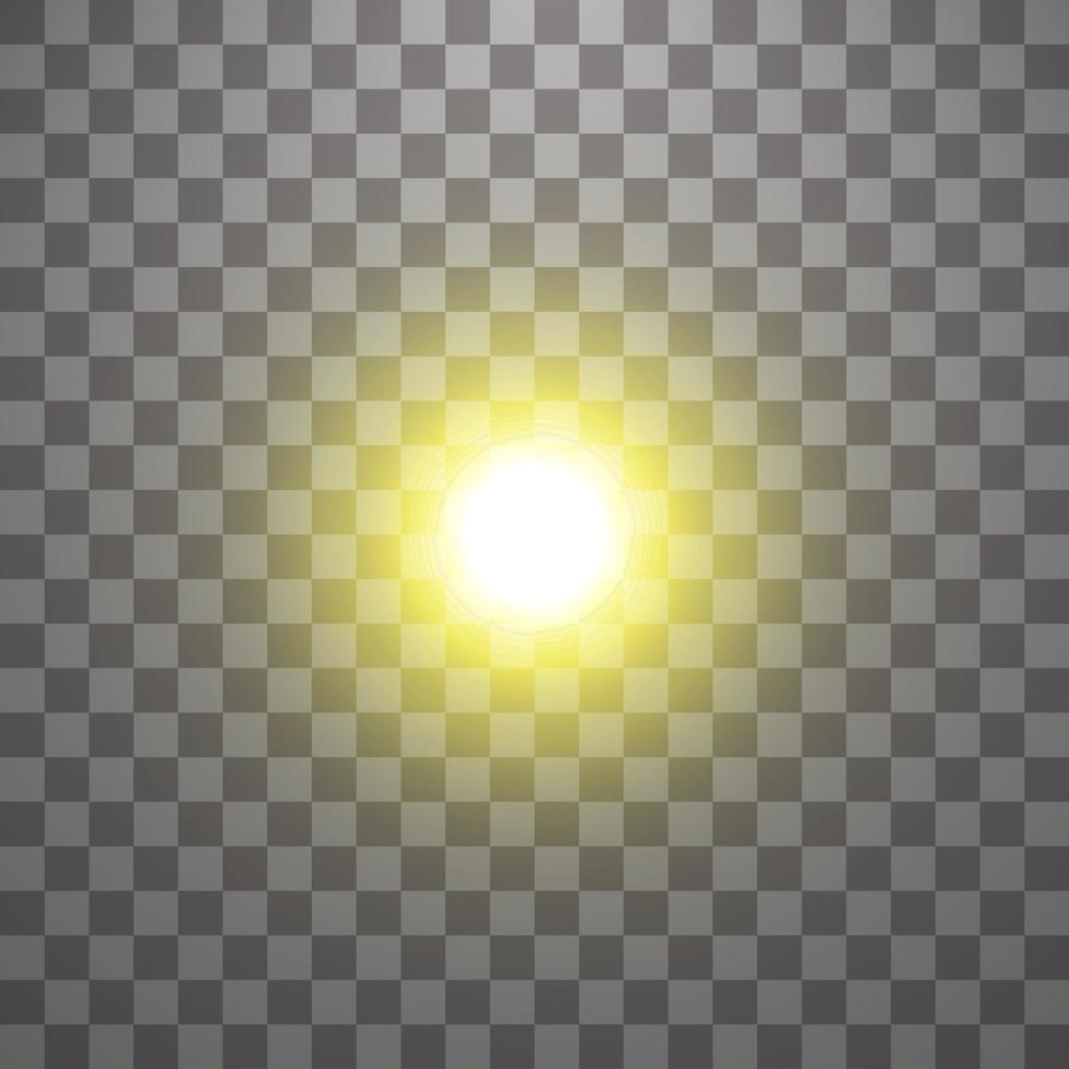 Vector special lens flare light effect