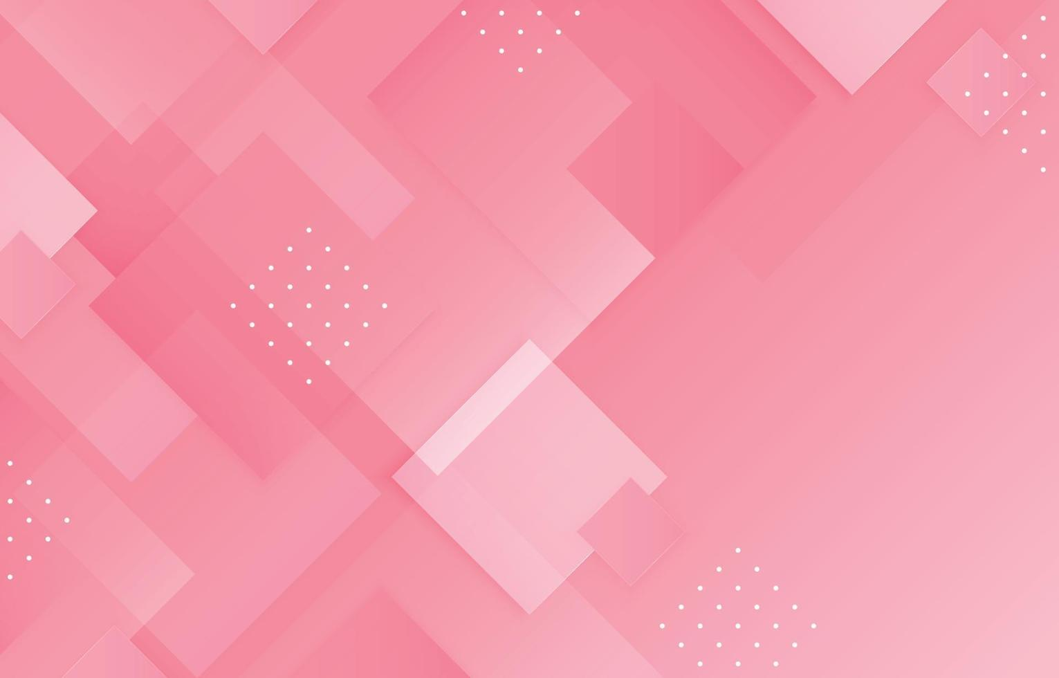 Abstract Rectangle Pink Background Concept vector