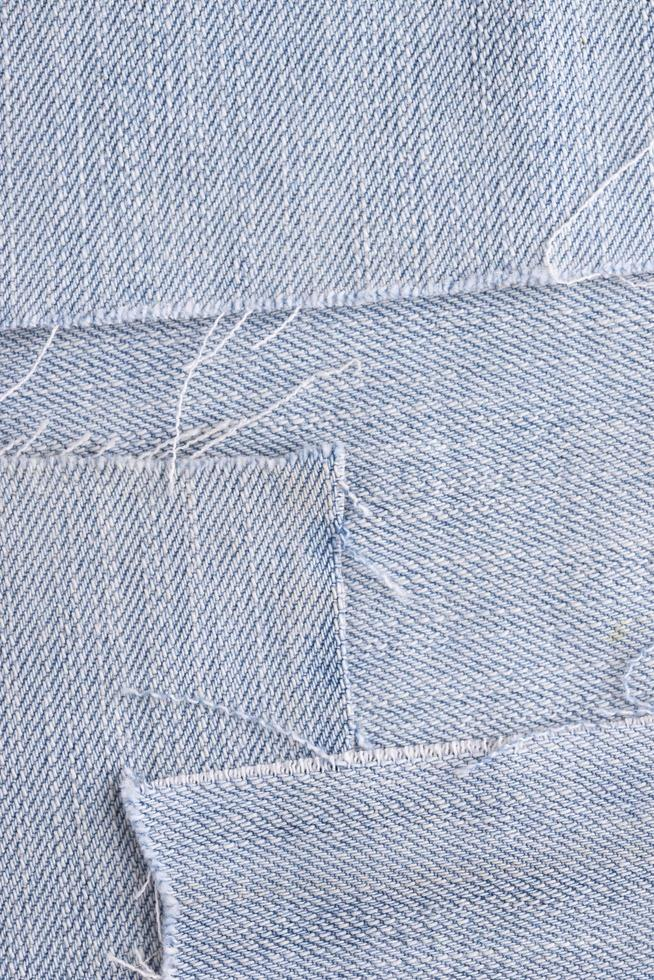Top view of fabric texture photo