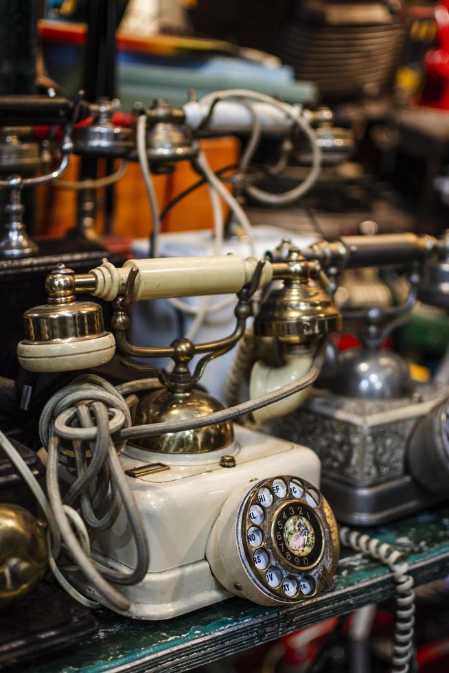 The Antiques market objects arrangement photo