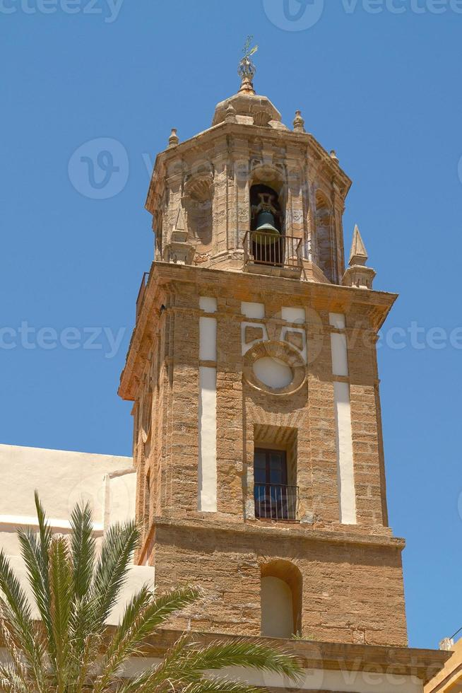 Detail of Historical Architecture in Cadiz Spain photo
