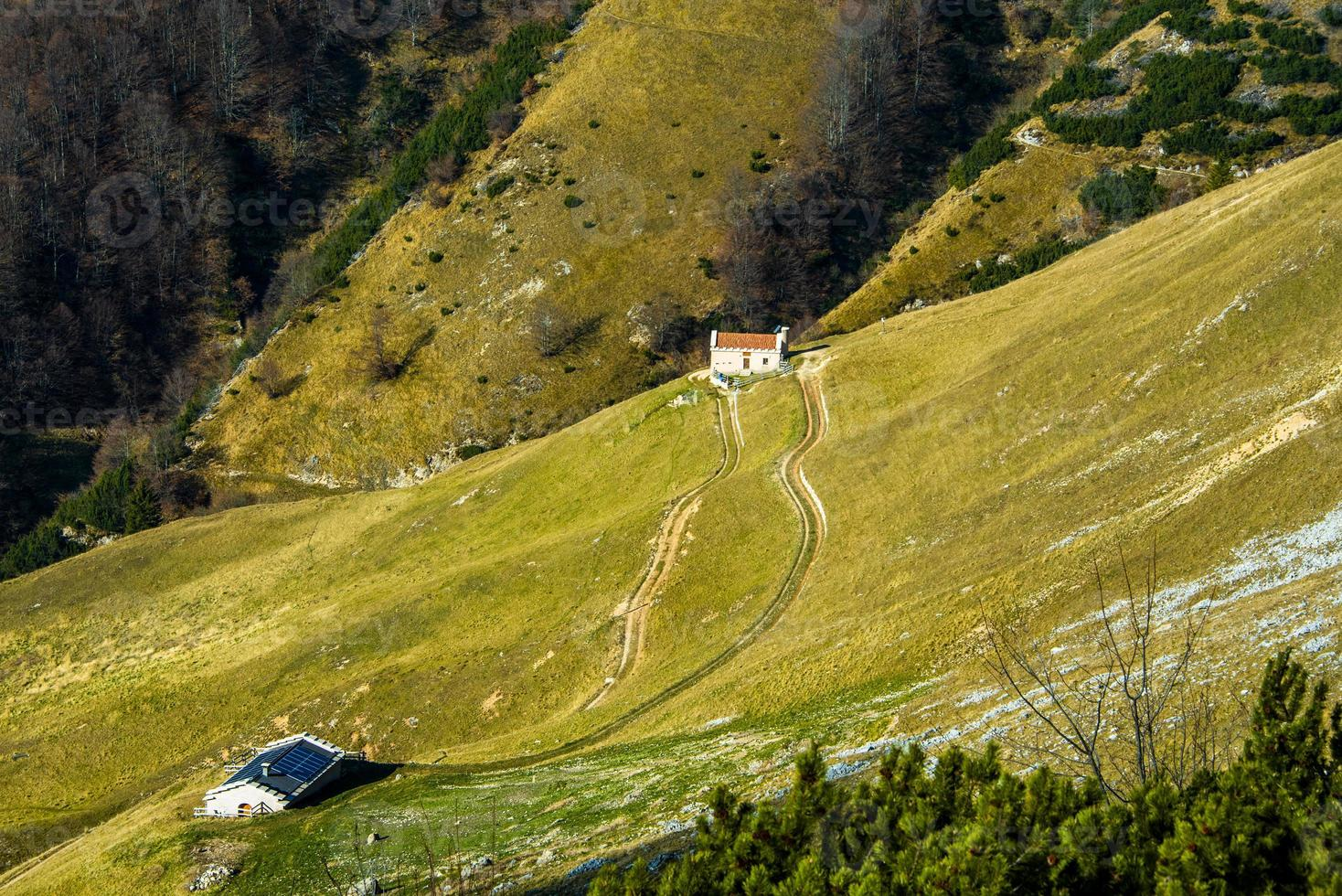 granjas alpinas cero foto