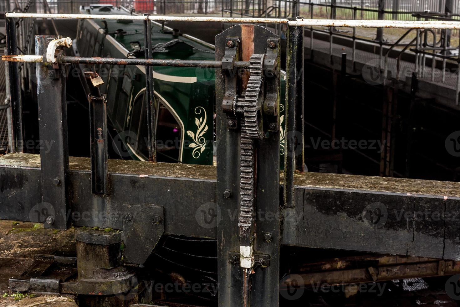 Metal Lock Mechanism photo