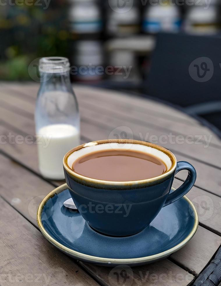 Blue Cup of Coffee photo