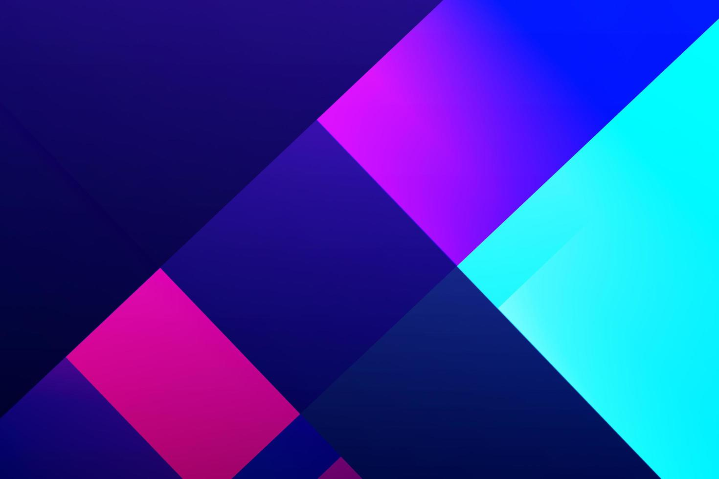 Abstract multicolor geometric block shape background with gradient fills photo