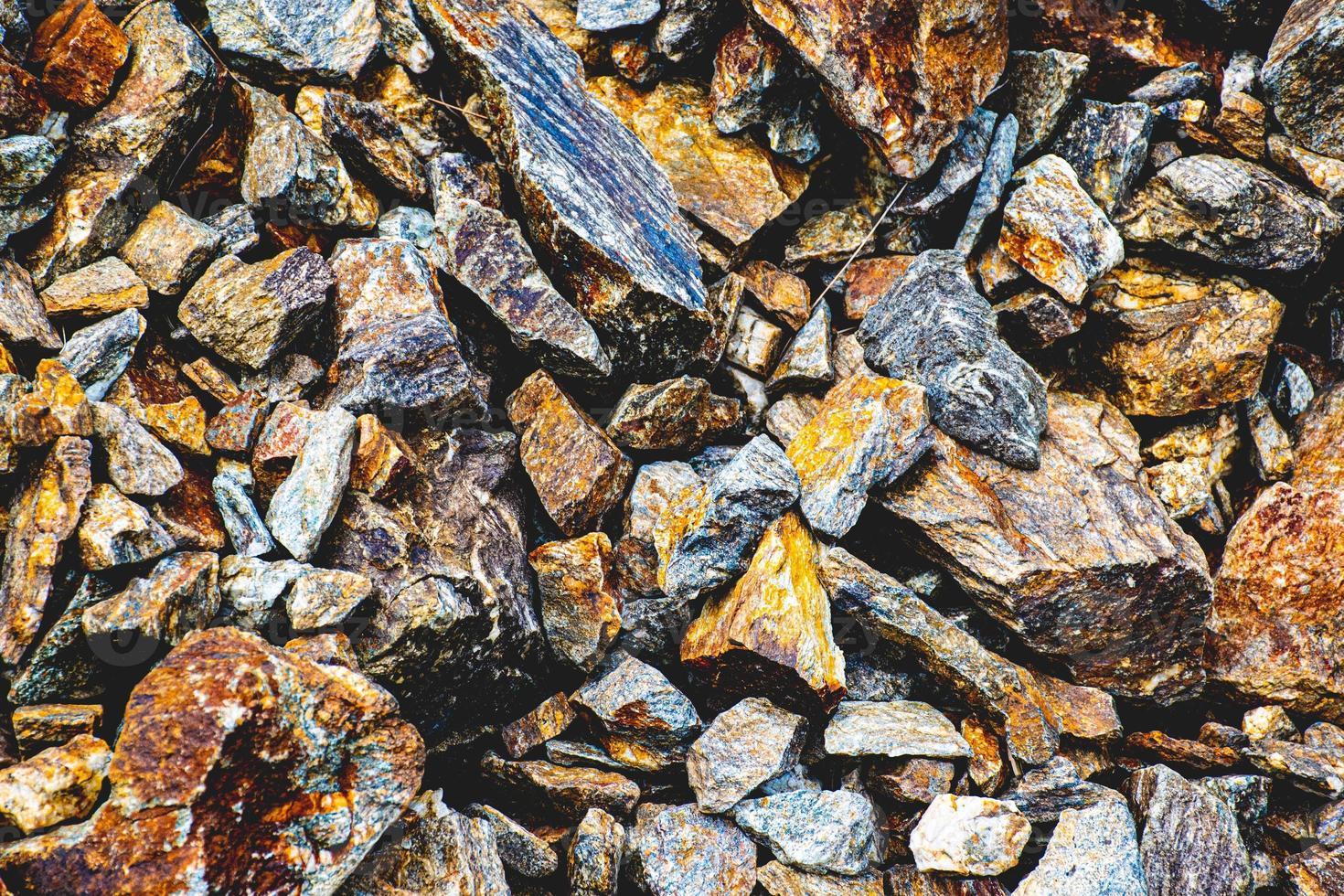 Group of granite rocks photo