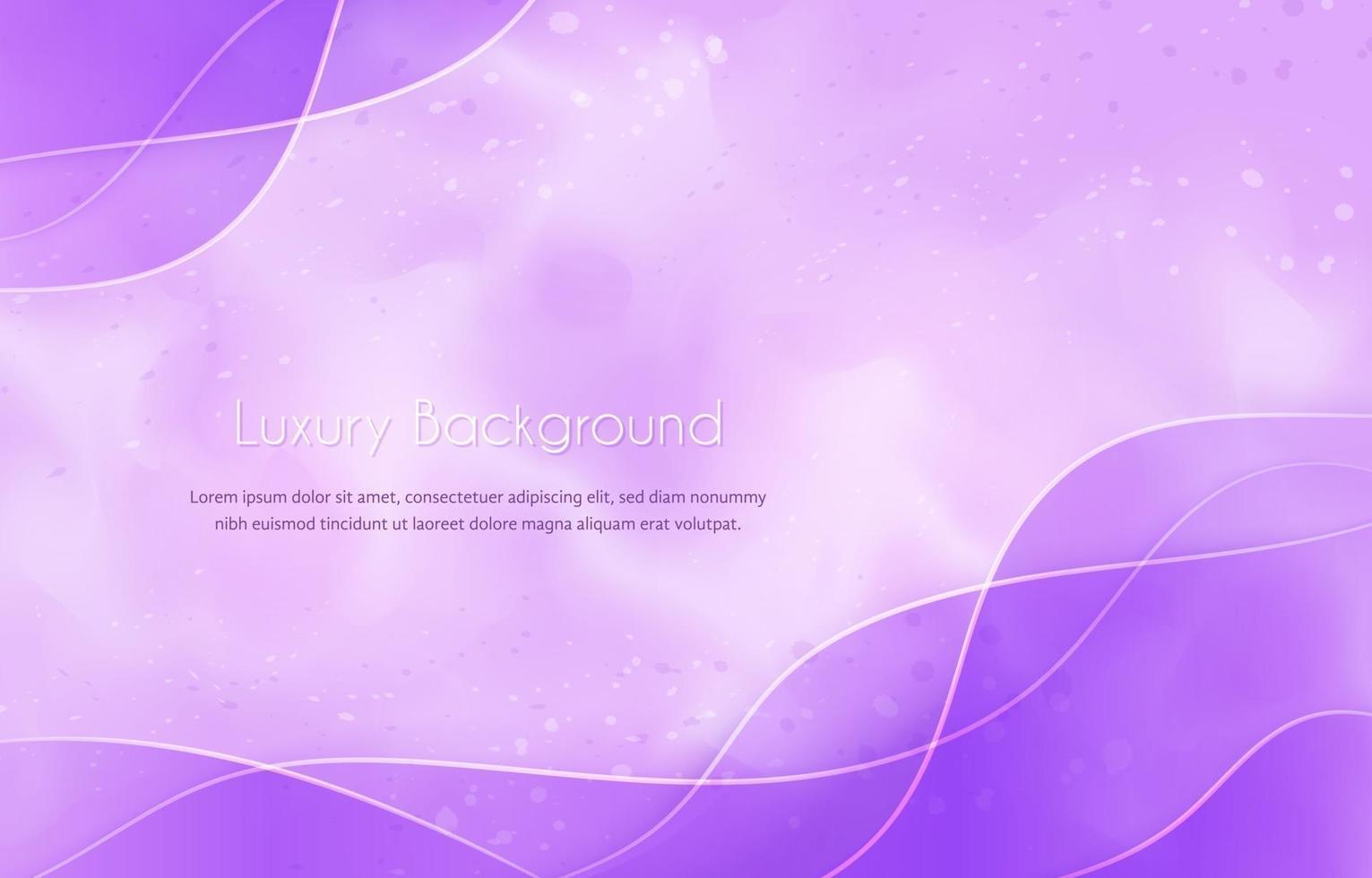 Beauty Wavy Levender Background vector