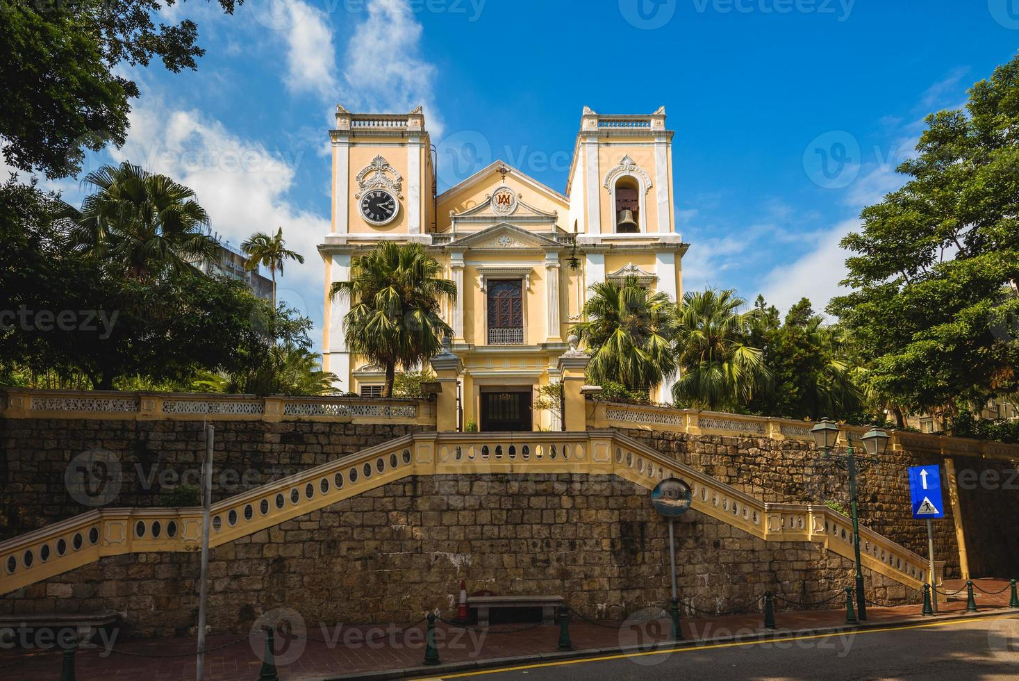 St Lawrence Church is one of the oldest church in Macau, China photo