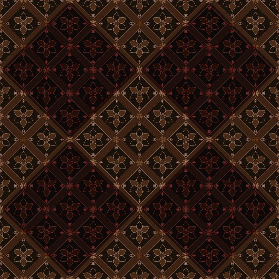 Batik Indonesia Concept vector