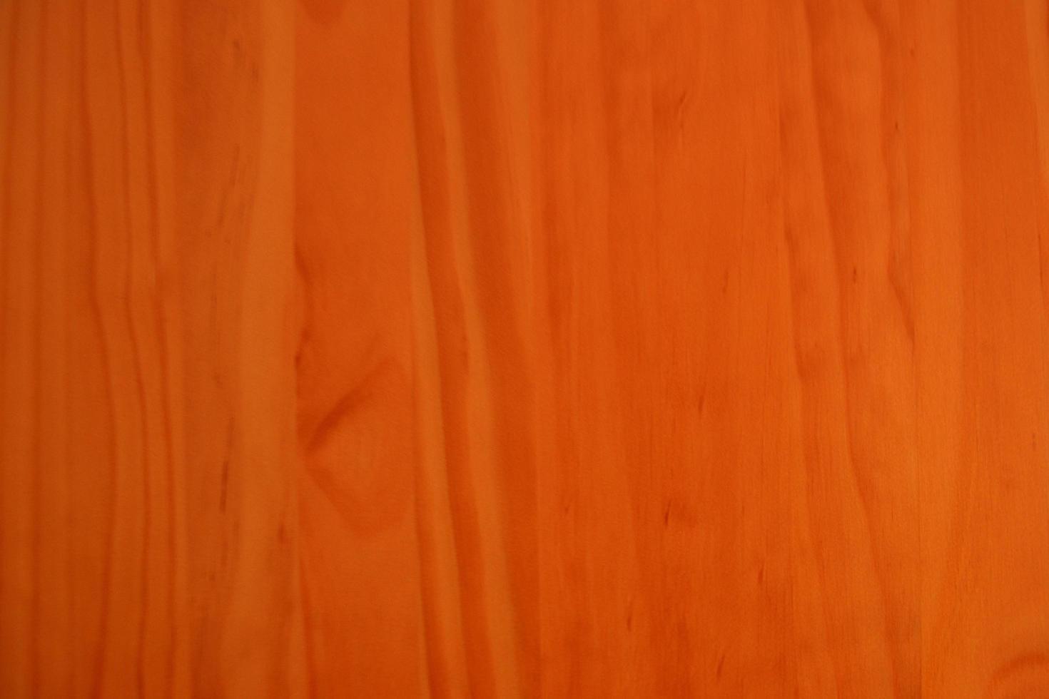 fondo naranja de madera de cerezo foto
