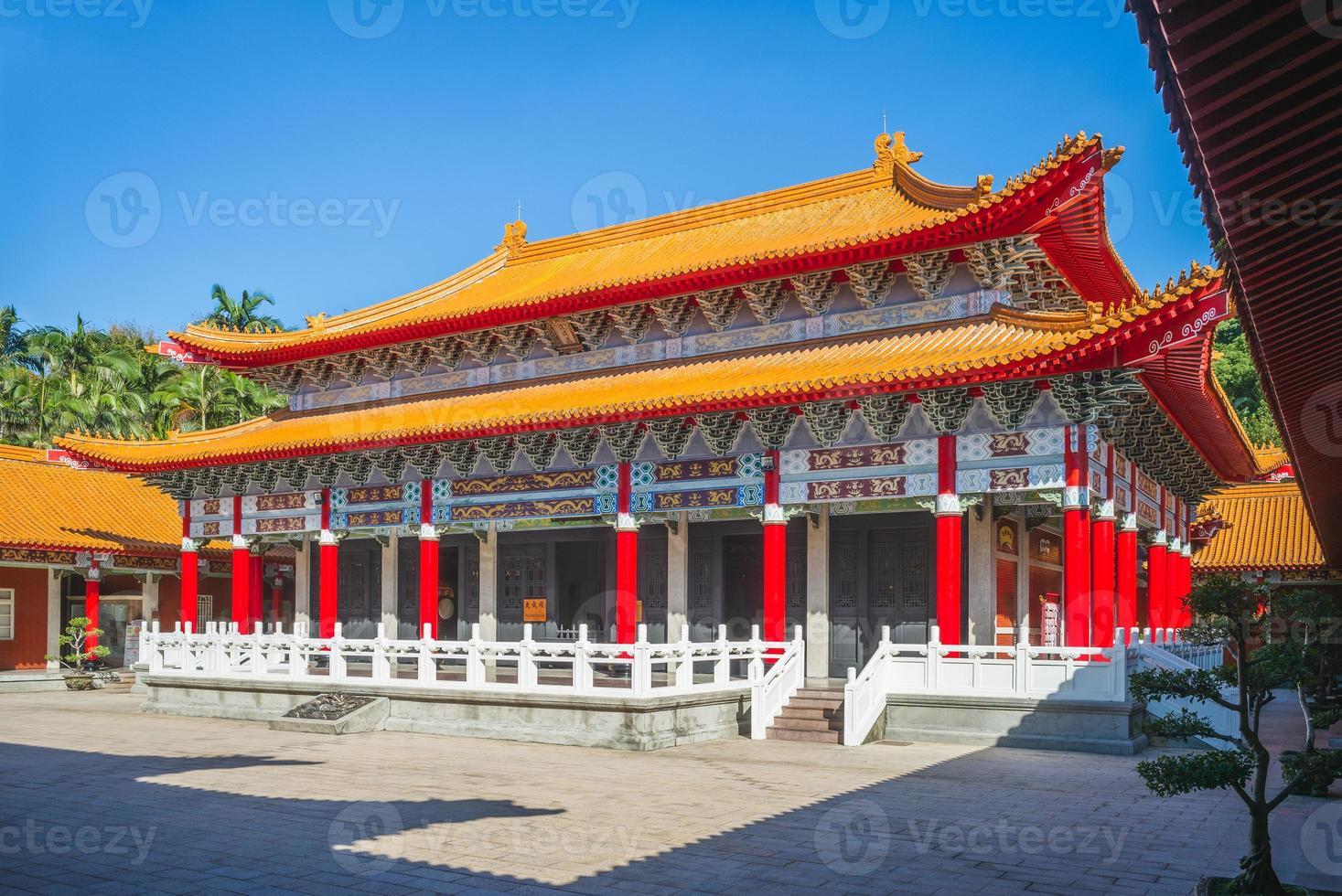 Dacheng Hall of Taoyuan Confucius Temple in Taiwan. photo