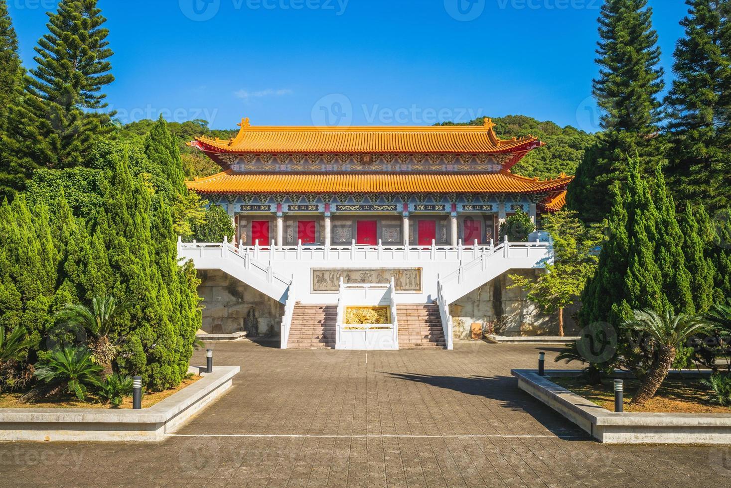 Dacheng Gate of Taoyuan Confucius Temple in Taiwan. photo