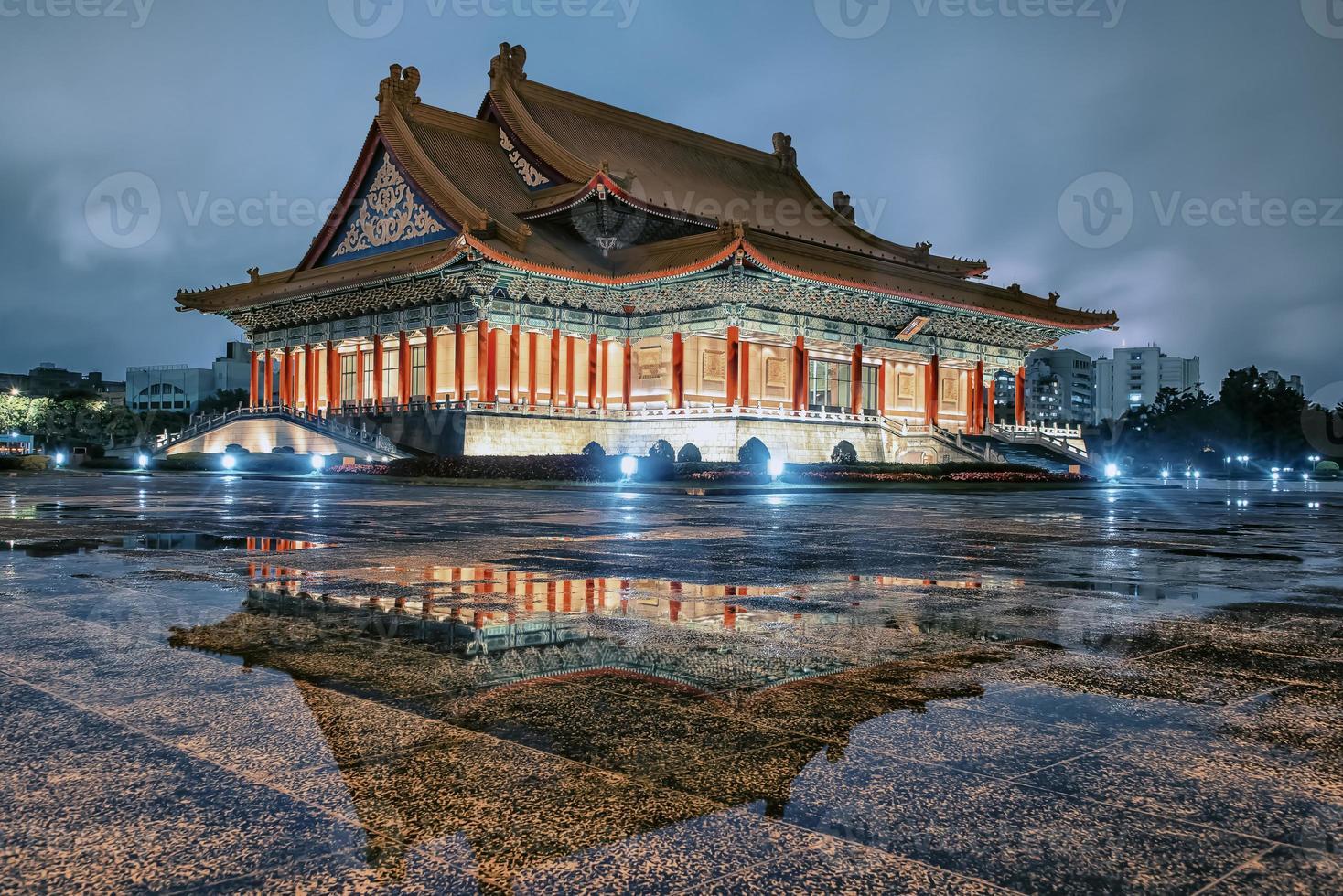 Liberty square in Taipei  Taiwan photo