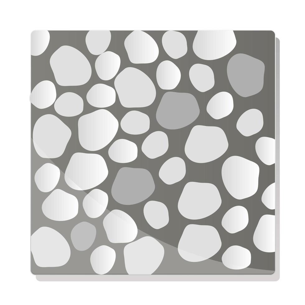 pavement texture background topview grey granite vector