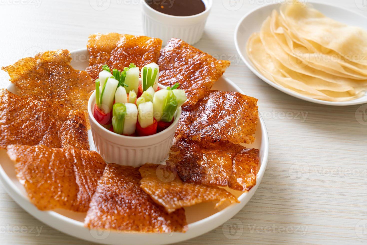 pato pekín - comida china foto
