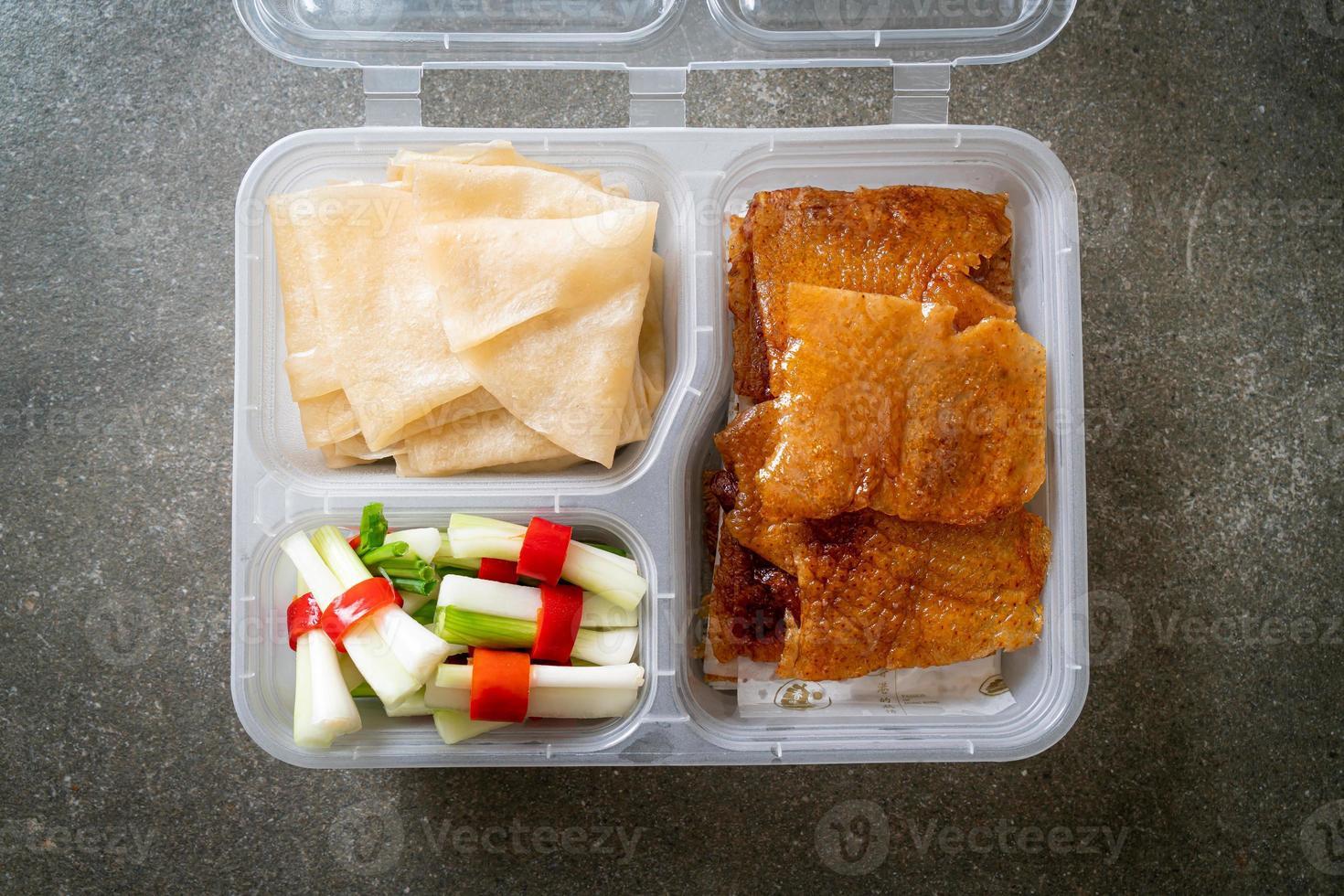 Peking Duck - Chinese food style photo