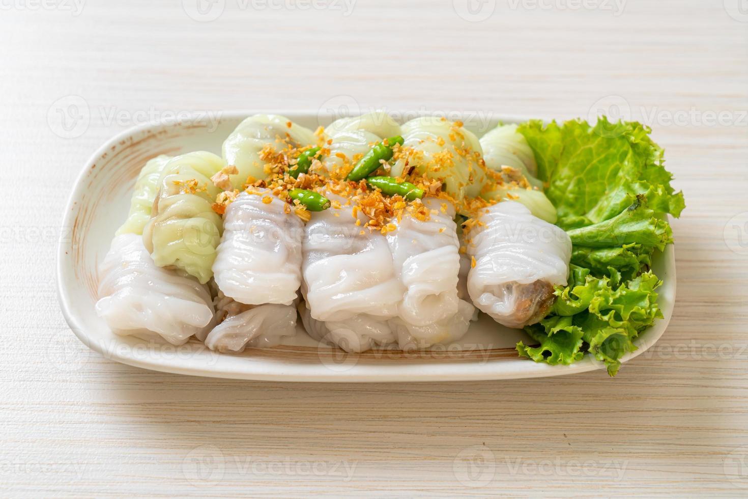 Pork Steamed Rice Parcels photo