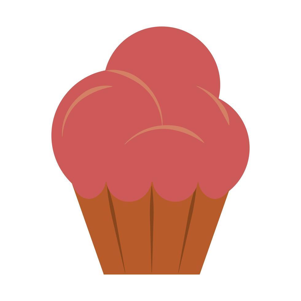 restaurant food and cuisine muffin icon cartoons vector illustration graphic design
