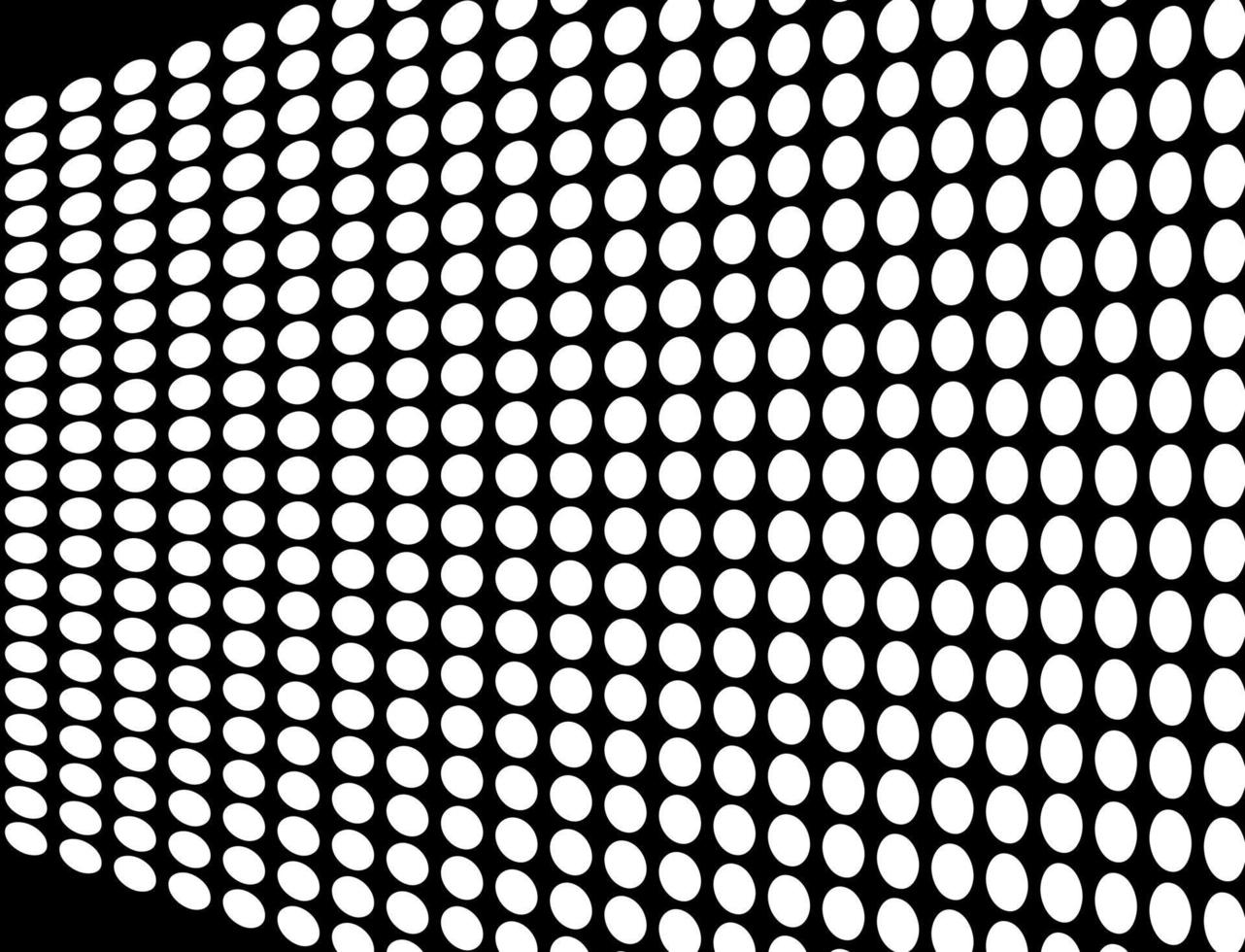 Abstract halftone wave dotted background vector