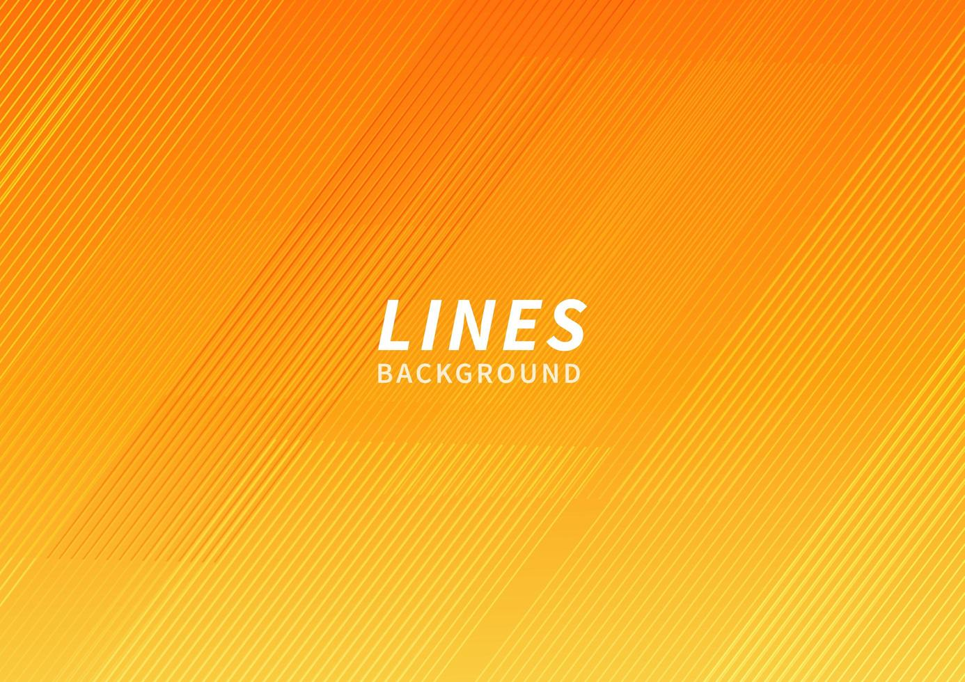 Abstract orange and yellow geometric modern stripe line background. Modern background template. vector