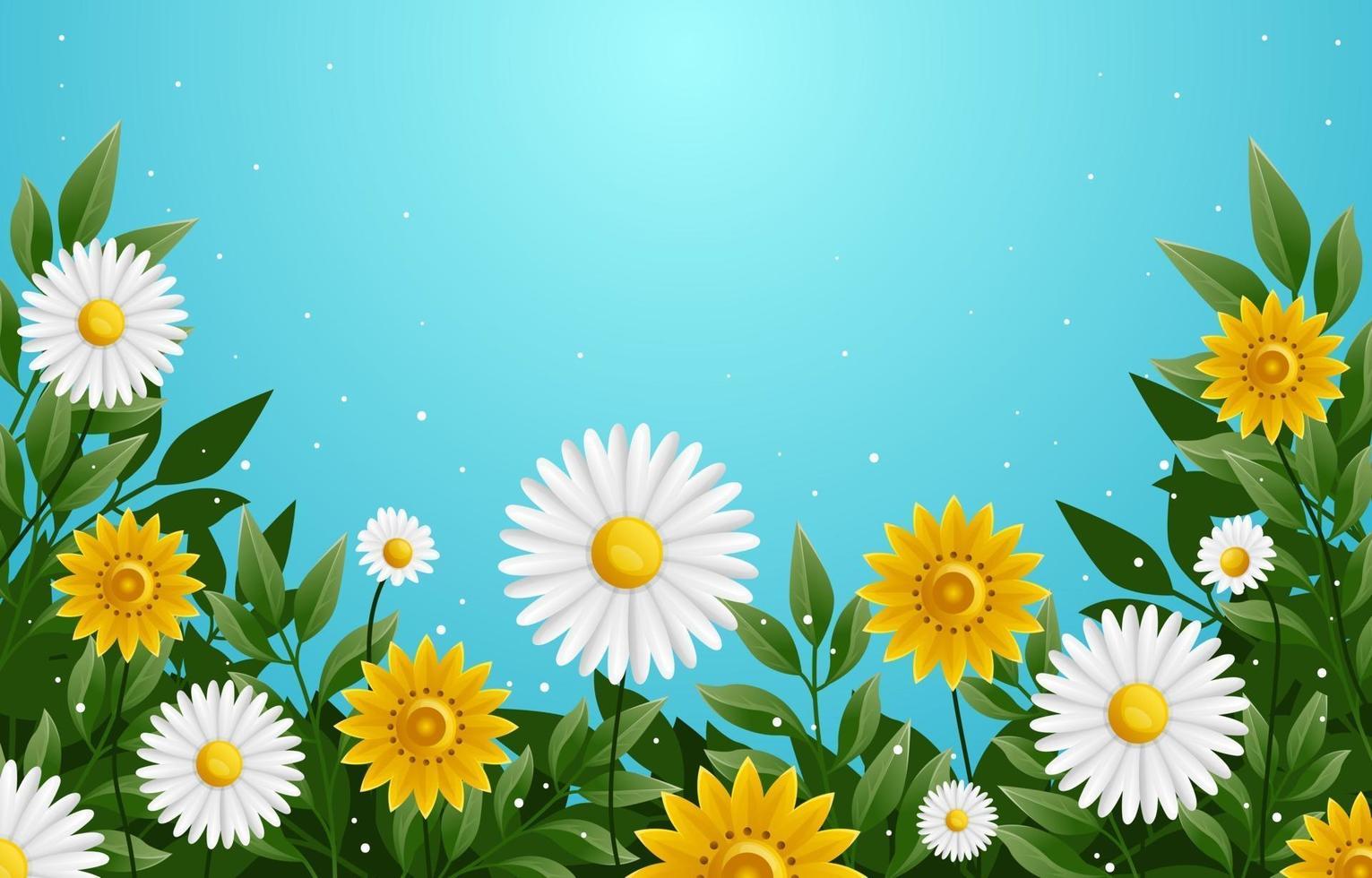 Blooming Flower Concept vector